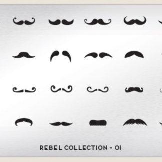Пластина для стемпинга MoYou London (Rebel Collection-01)