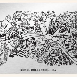 Пластина для стемпинга MoYou London (Rebel Collection-06)
