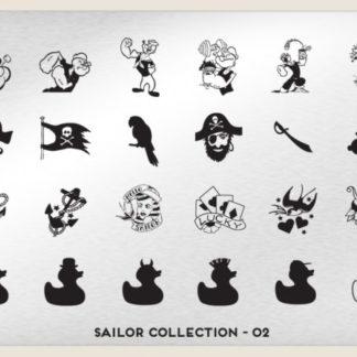 Пластина для стемпинга MoYou London (Sailor Collection-02)