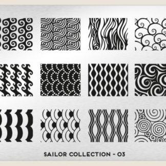 Пластина для стемпинга MoYou London (Sailor Collection-03)