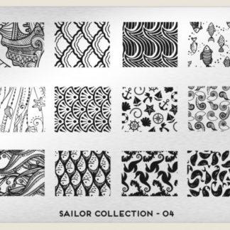 Пластина для стемпинга MoYou London (Sailor Collection-04)
