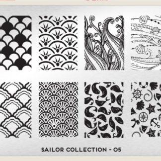 Пластина для стемпинга MoYou London (Sailor Collection-05)