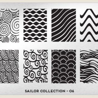 Пластина для стемпинга MoYou London (Sailor Collection-06)