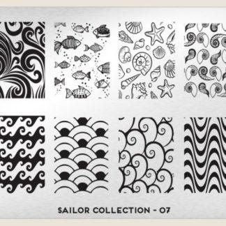 Пластина для стемпинга MoYou London (Sailor Collection-07)