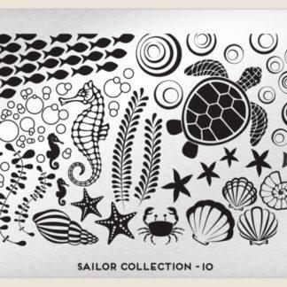 Пластина для стемпинга MoYou London (Sailor Collection-10)