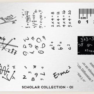 Пластина для стемпинга MoYou London (Scholar Collection-01)