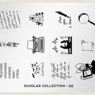 Пластина для стемпинга MoYou London (Scholar Collection-02)