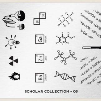 Пластина для стемпинга MoYou London (Scholar Collection-03)