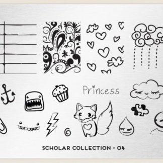 Пластина для стемпинга MoYou London (Scholar Collection-04)