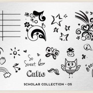 Пластина для стемпинга MoYou London (Scholar Collection-05)