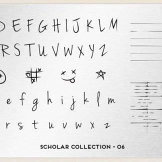 Пластина для стемпинга MoYou London (Scholar Collection-06)