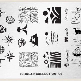 Пластина для стемпинга MoYou London (Scholar Collection-07)