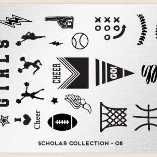 Пластина для стемпинга MoYou London (Scholar Collection-08)