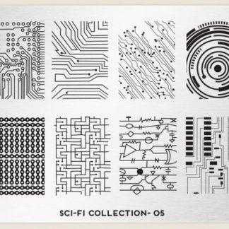 Пластина для стемпинга MoYou London (Sci-Fi Collection-05)