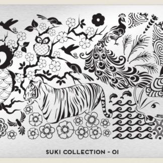 Пластина для стемпинга MoYou London (Suki Collection-01)