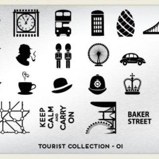Пластина для стемпинга MoYou London (Tourist Collection-01)