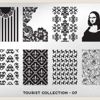 Пластина для стемпинга MoYou London (Tourist Collection-07)