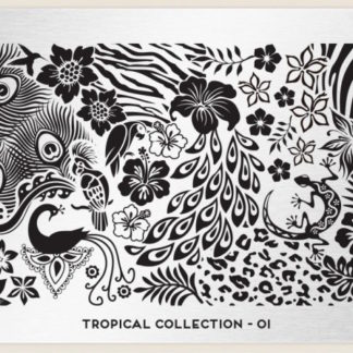 Пластина для стемпинга MoYou London (Tropical Collection-01)