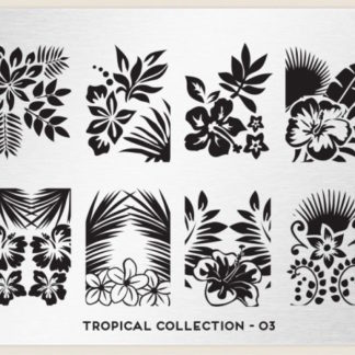 Пластина для стемпинга MoYou London (Tropical Collection-03)