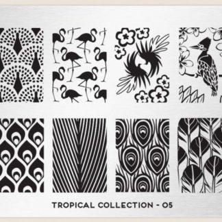 Пластина для стемпинга MoYou London (Tropical Collection-05)