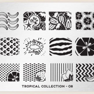 Пластина для стемпинга MoYou London (Tropical Collection-08)