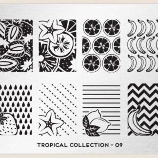 Пластина для стемпинга MoYou London (Tropical Collection-09)