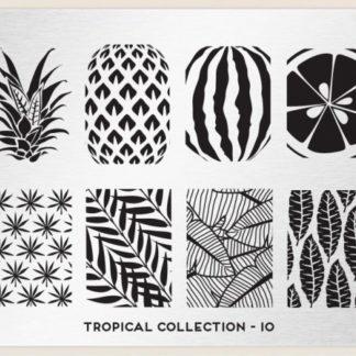 Пластина для стемпинга MoYou London (Tropical Collection-10)