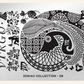 Пластина для стемпинга MoYou London (Zodiac Collection-08)