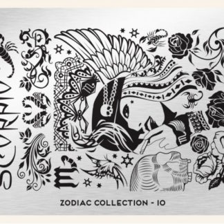 Пластина для стемпинга MoYou London (Zodiac Collection-10)