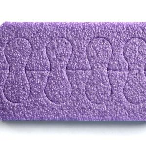 Распорки для педикюра (фиолетовые)