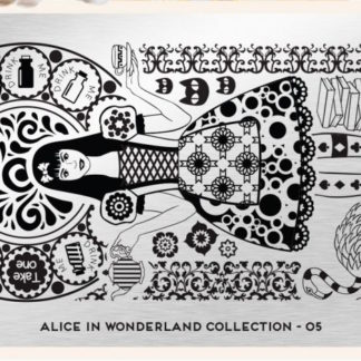 Пластина для стемпинга MoYou London (Alice Collection-05)
