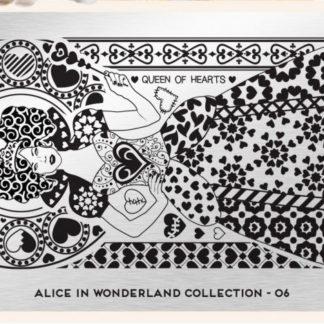 Пластина для стемпинга MoYou London (Alice Collection-06)