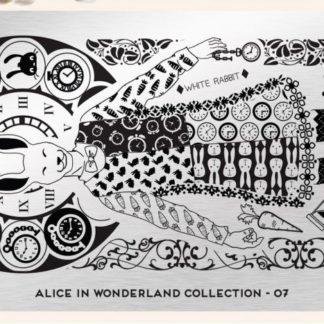 Пластина для стемпинга MoYou London (Alice Collection-07)