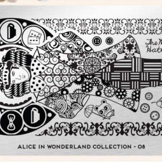 Пластина для стемпинга MoYou London (Alice Collection-08)
