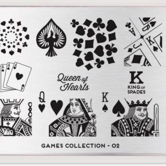 Пластина для стемпинга MoYou London (Games Collection-02)