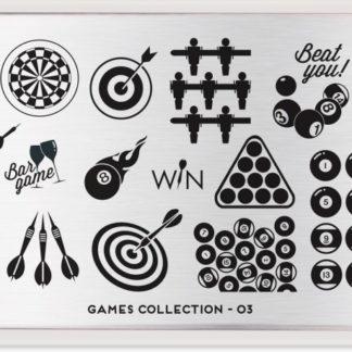 Пластина для стемпинга MoYou London (Games Collection-03)