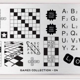Пластина для стемпинга MoYou London (Games Collection-04)