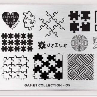 Пластина для стемпинга MoYou London (Games Collection-05)