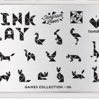 Пластина для стемпинга MoYou London (Games Collection-06)