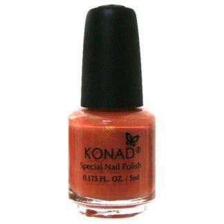 Лак для стемпинга Konad Dark Orange 5ml