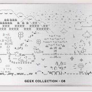 Пластина для стемпинга MoYou London Geek Plate Collection-08