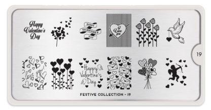 Пластина для стемпинга MoYou London Festive Collection-19