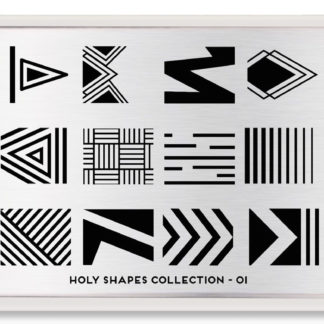 Пластина для стемпинга MoYou London Holy Shapes Collection-01