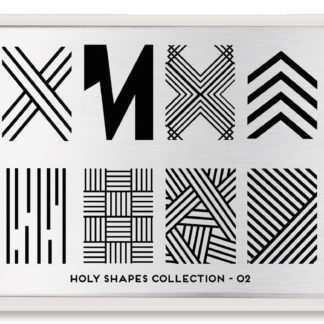 Пластина для стемпинга MoYou London Holy Shapes Collection-02