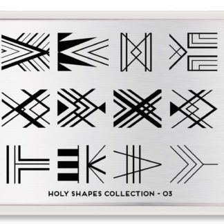 Пластина для стемпинга MoYou London Holy Shapes Collection-03