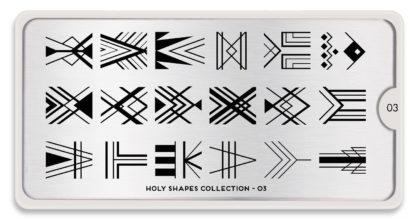 Пластина для стемпинга MoYou London Holy Shapes Collection-03