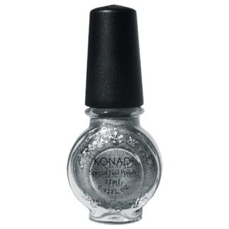 Лак для стемпинга Konad Powdery Silver 11ml