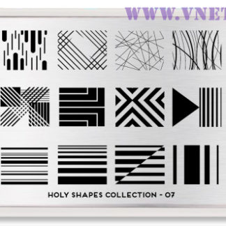 Пластина для стемпинга MoYou London Holy Shapes-07