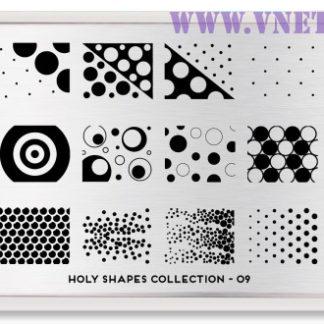 Пластина для стемпинга MoYou London Holy Shapes-09