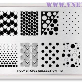 Пластина для стемпинга MoYou London Holy Shapes-10